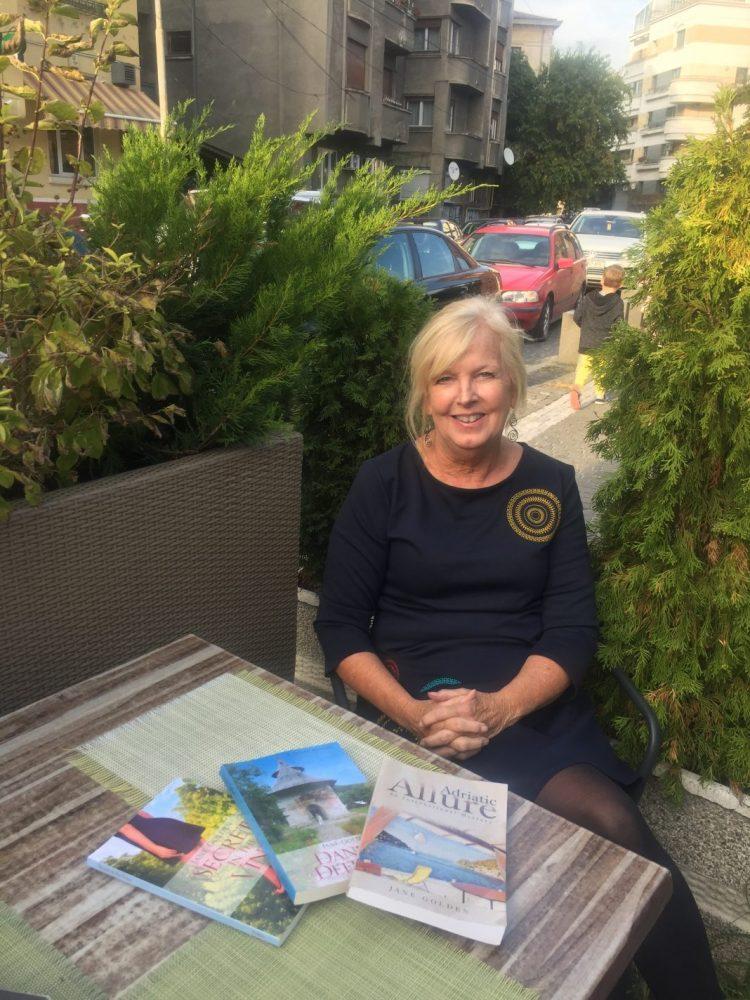Jane Golden Author of International Mystery Novels